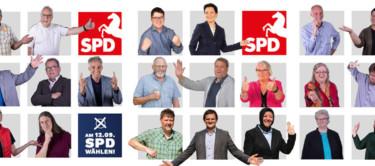 Collage mit allen Kandidatenfoos