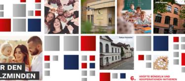 Collage mit Bildern aus den Kreistagsflyern