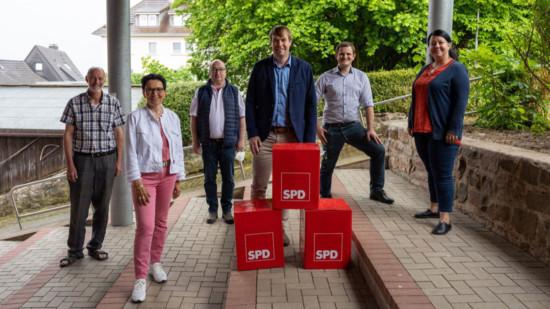 Bild mit den Spitzenkandidaten