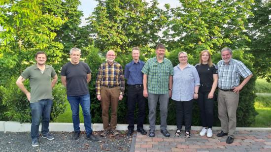 Der neue Vorstand des SPD-Ortsvereins Stadtoldendorf