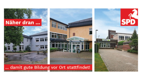 Postkarte zum Thema Bildung