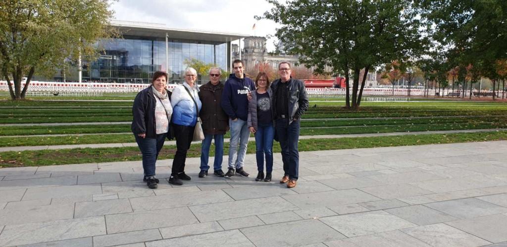Besucher in Berlin