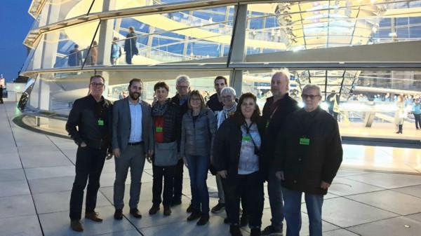 Gäste mit Johannes Schraps im Reichstag