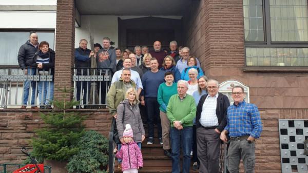Teilnehmer der Kohlfahrt