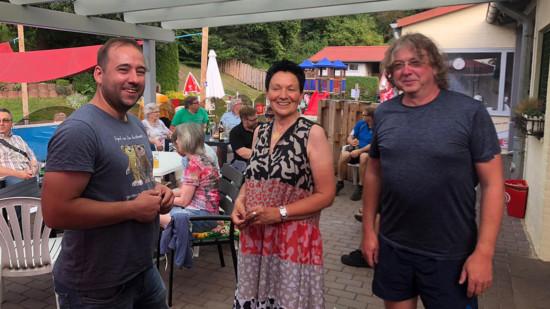 Johannes Schraps, Sabine Tippelt und Tim Gerber