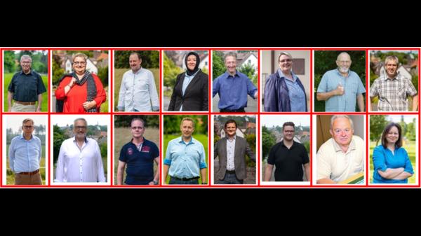 Collage der Kandidierenden
