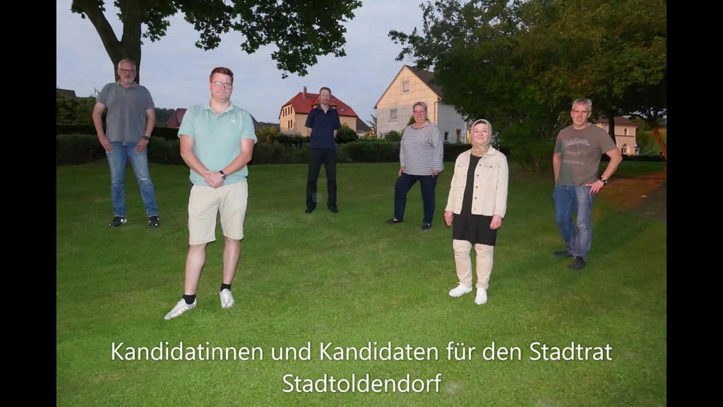 Unsere Stadtratskandidaten