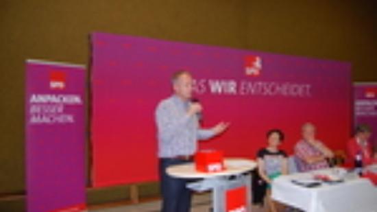 Matthias Miersch beim Unterbezirksparteitag
